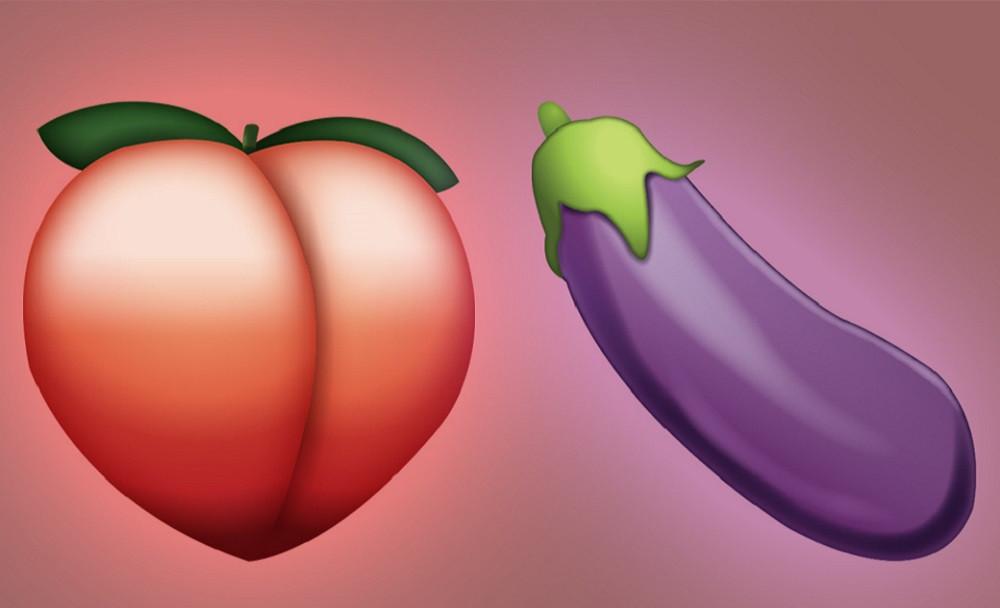 баклажан и персик