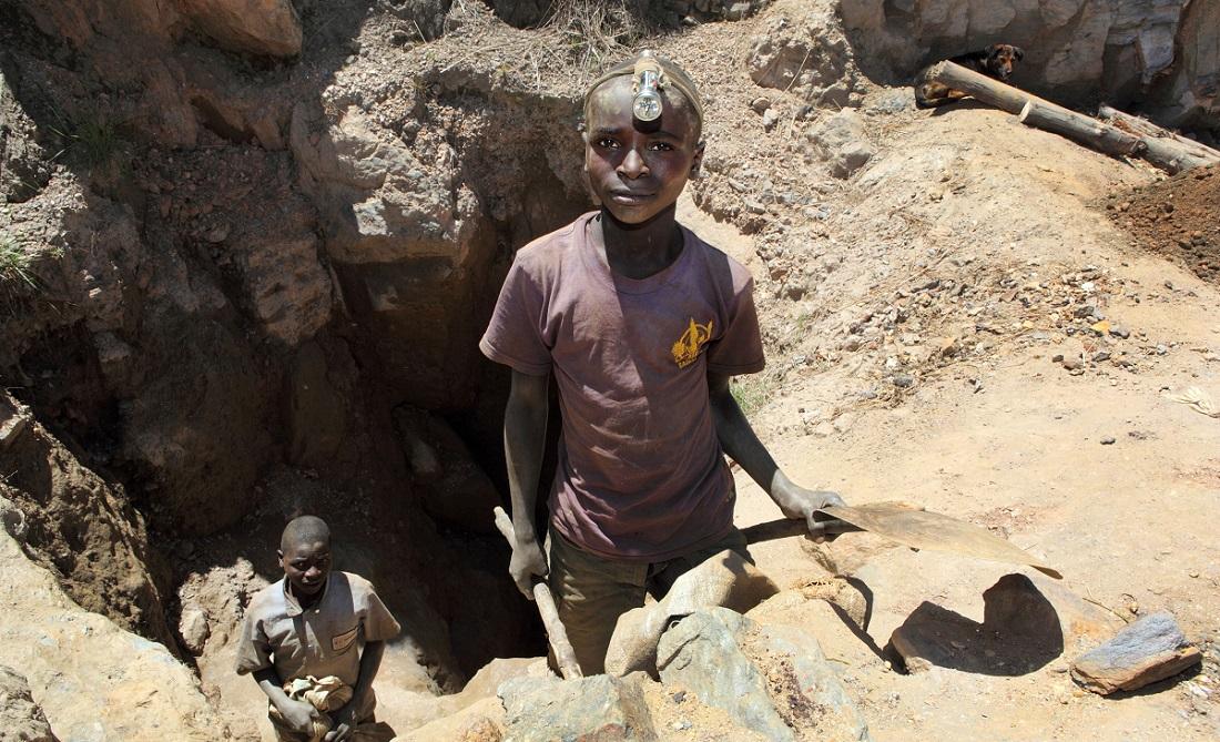 детский труд в Конго