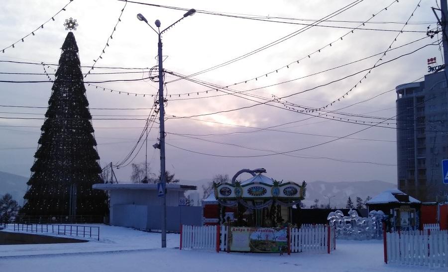 ёлка в Красноярске