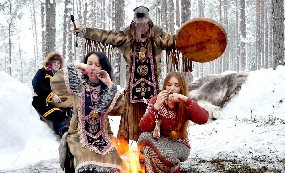 шаманы в Карелии 2