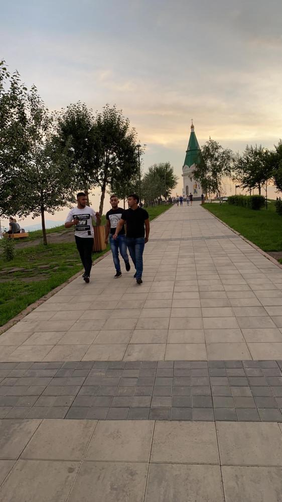 Виды Красноярска со смотровой площадки Караульной горы 66