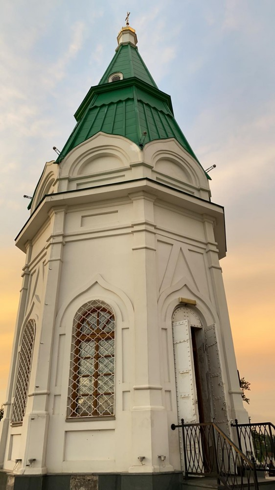 Виды Красноярска со смотровой площадки Караульной горы 67