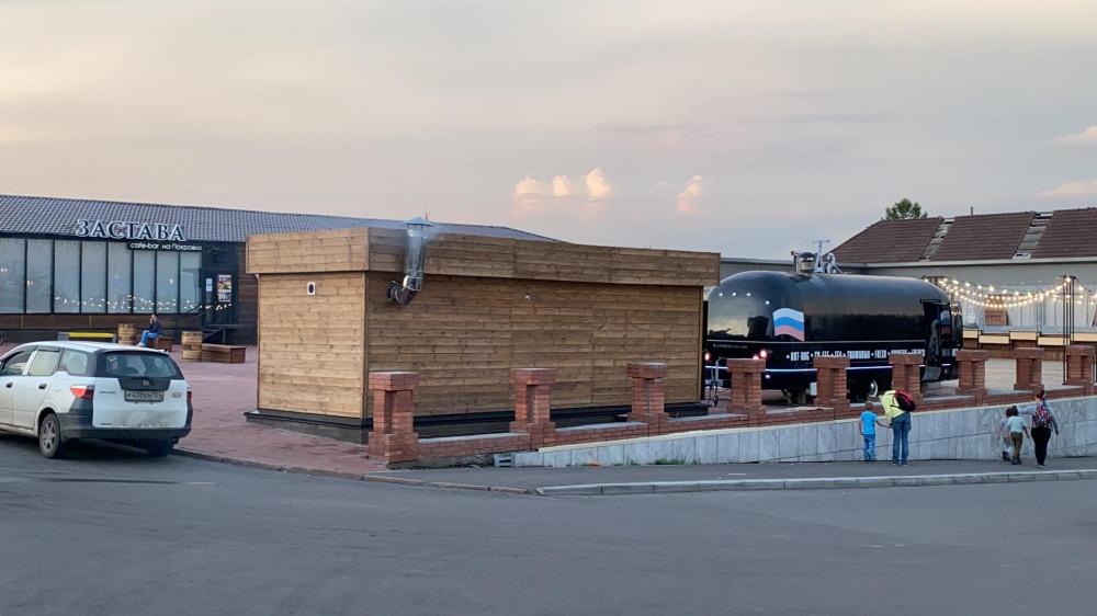 Виды Красноярска со смотровой площадки Караульной горы 76