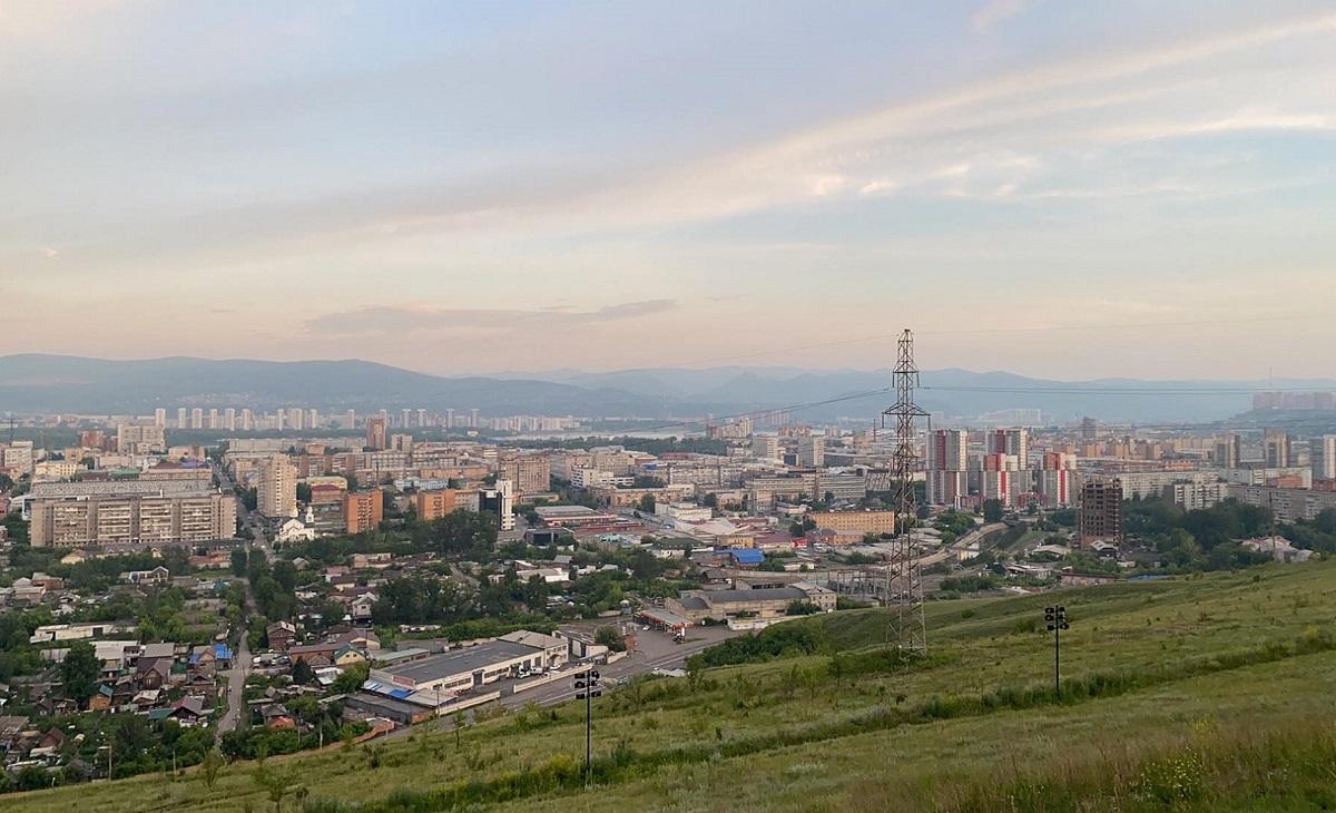 Виды Красноярска со смотровой площадки Караульной горы 03