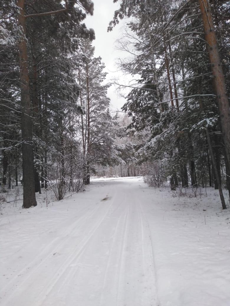Пришла зима в посёлок Подгорный 44