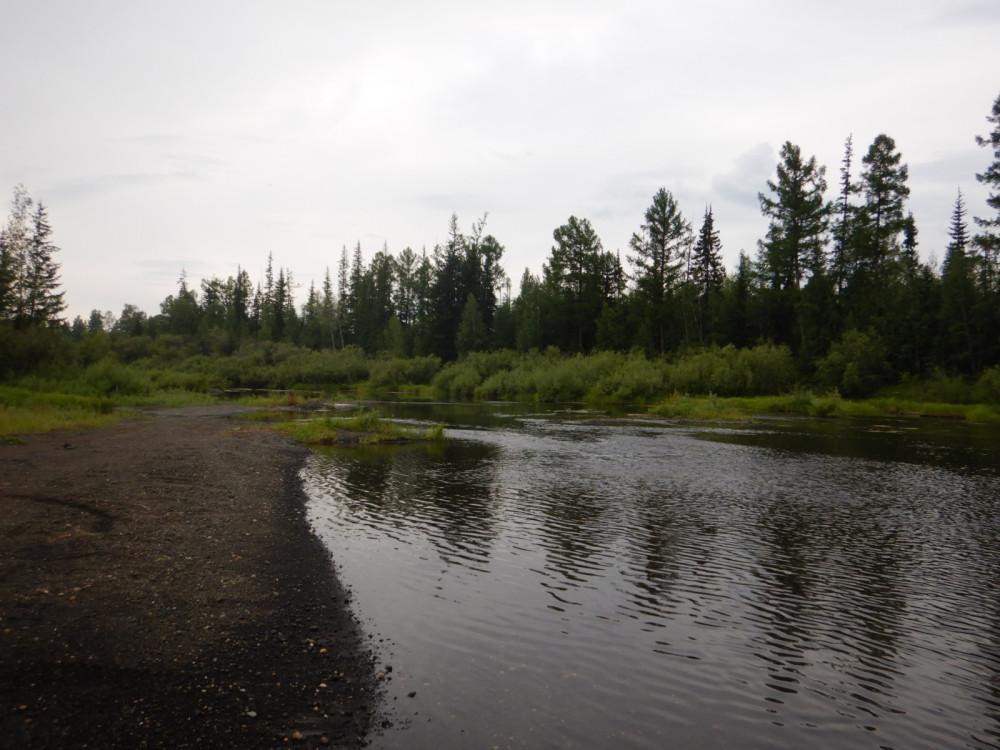 Река Ванаварка летом на севере Красноярского края 06