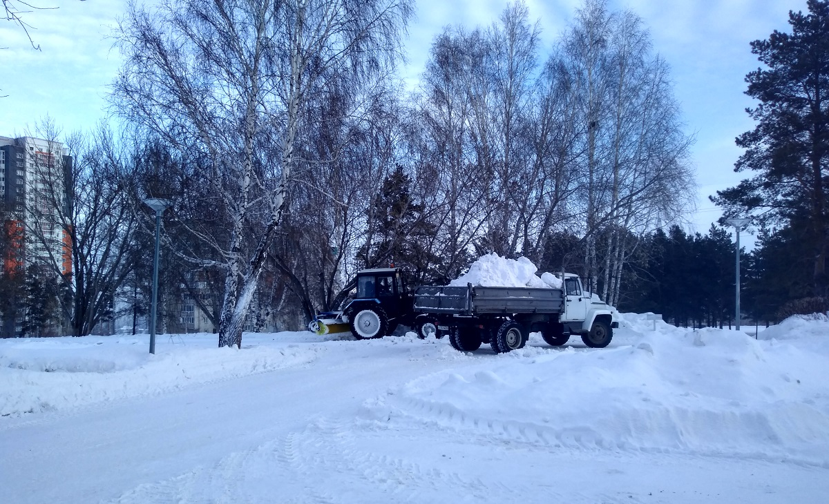 После снегопада в Красноярске 11