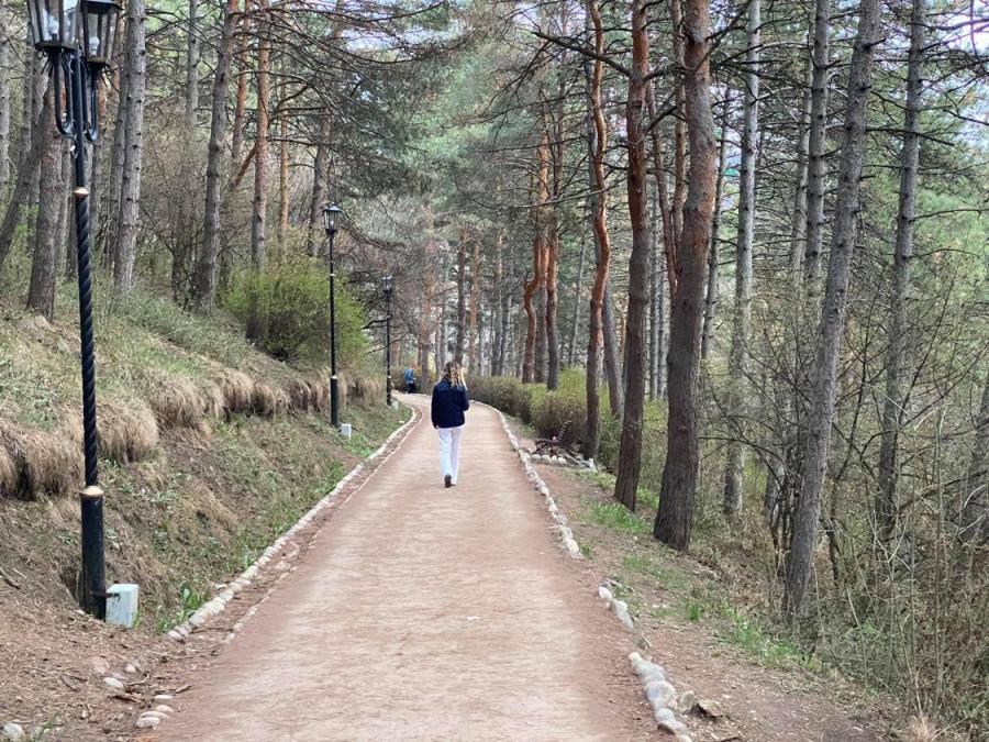 Прогулка по пустынному городу-курорту Кисловодску.. 140
