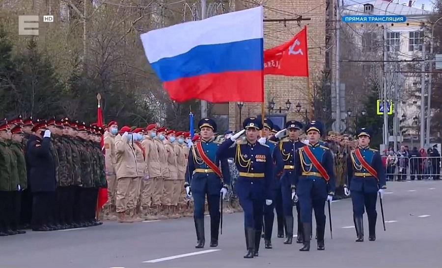 парад в Кр-ке