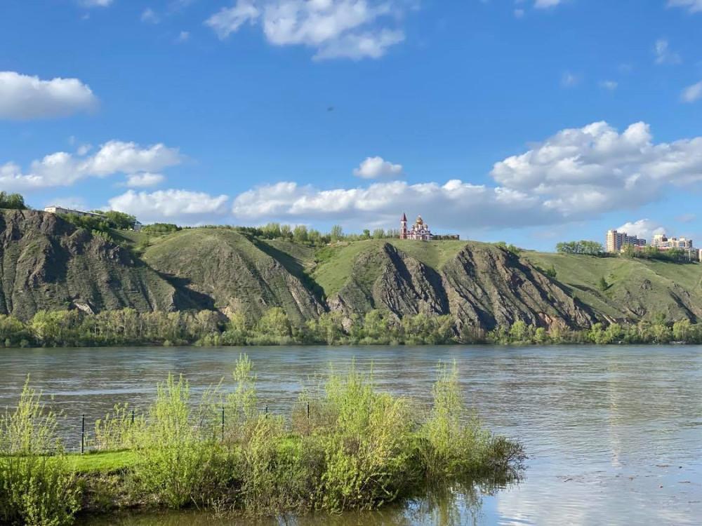 Прогулка по берегу реки Енисей на окраине Красноярска 12