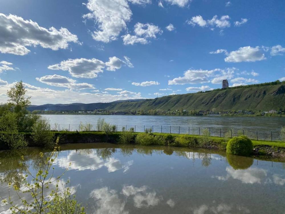 Прогулка по берегу реки Енисей на окраине Красноярска 14