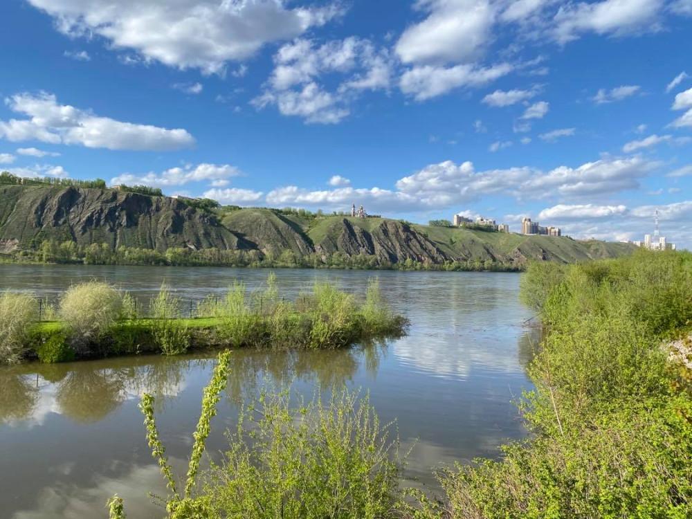 Прогулка по берегу реки Енисей на окраине Красноярска 16