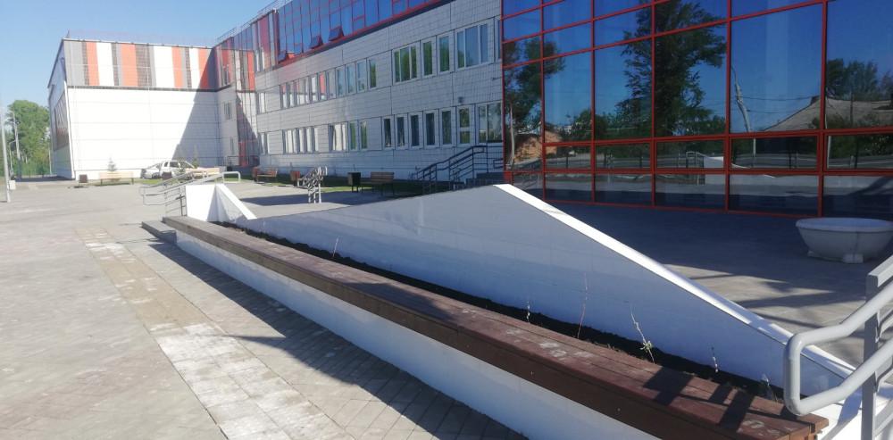 Наша новая школа на станции Енисей 23