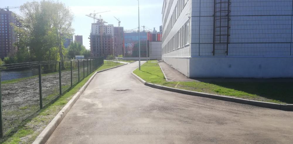 Наша новая школа на станции Енисей 31