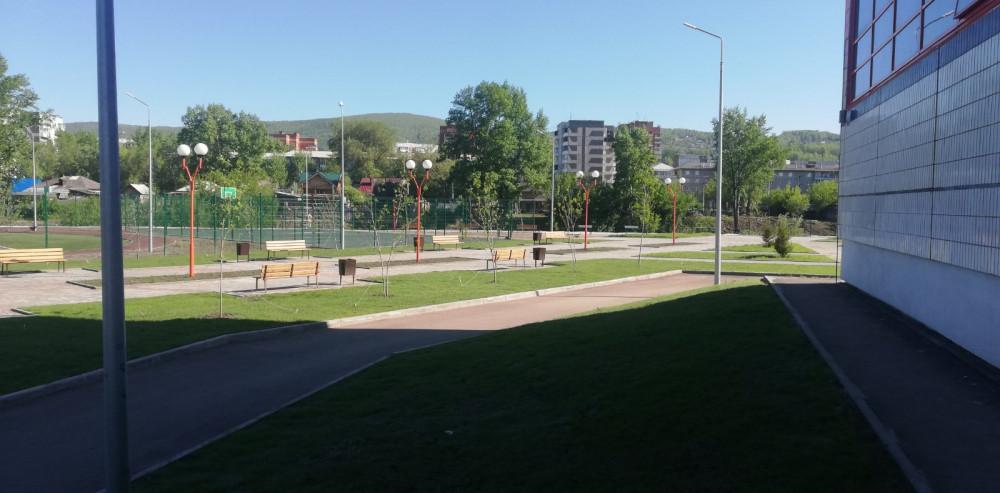 Наша новая школа на станции Енисей 33