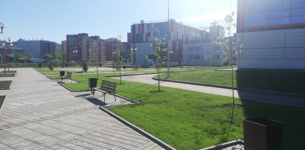 Наша новая школа на станции Енисей 37