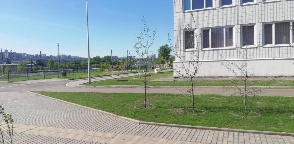 Наша новая школа на станции Енисей 43