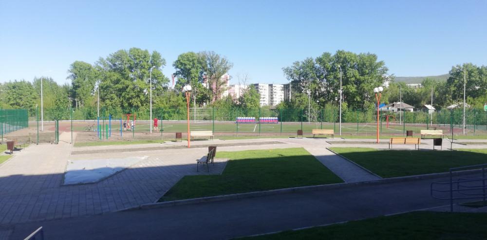Наша новая школа на станции Енисей 45