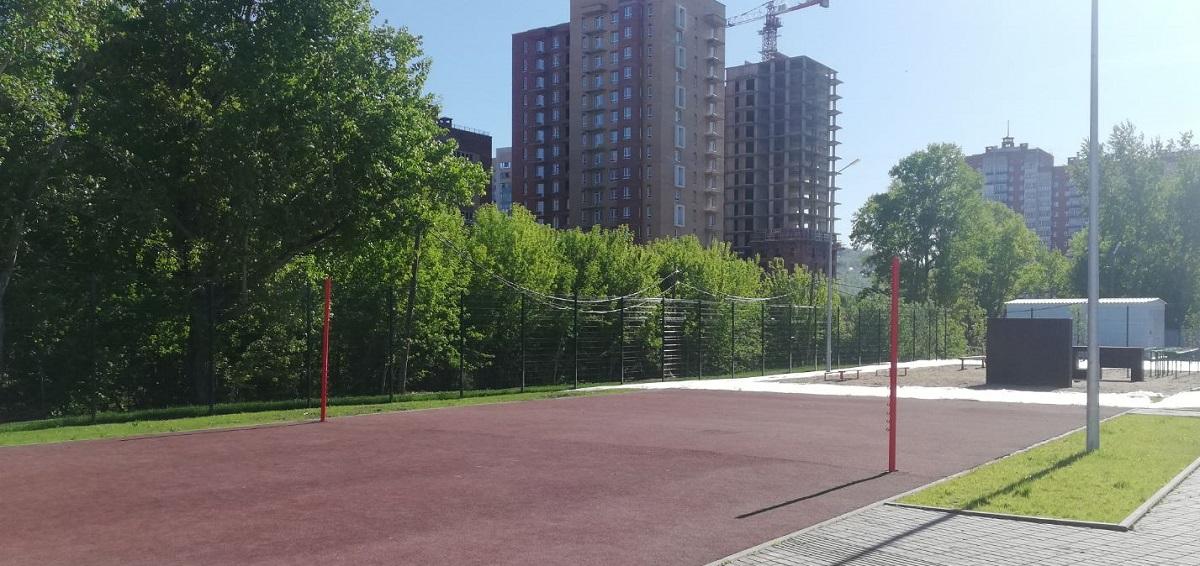 Наша новая школа на станции Енисей 55
