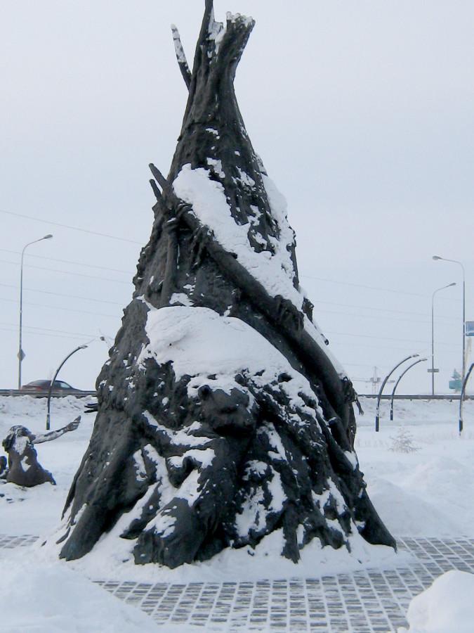 Археопарк в Ханты-Мансийске. Вспоминаем зимние прогулки IMG_3607