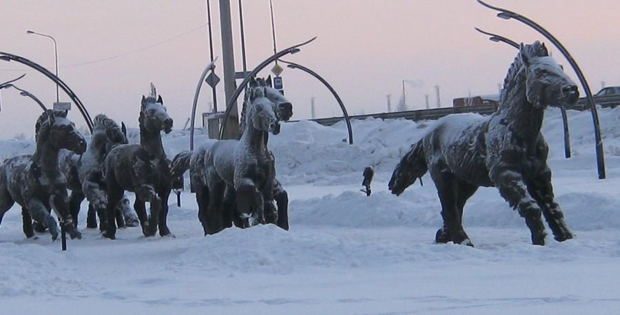 Археопарк в Ханты-Мансийске. Вспоминаем зимние прогулки