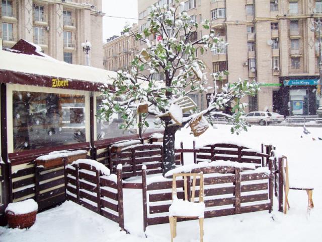 Киев | Арт-объект 12 стульев