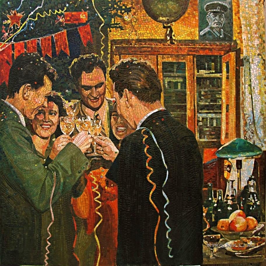 Ганкевич Анатолий Николаевич (1965) «С Новым годом!» 2010