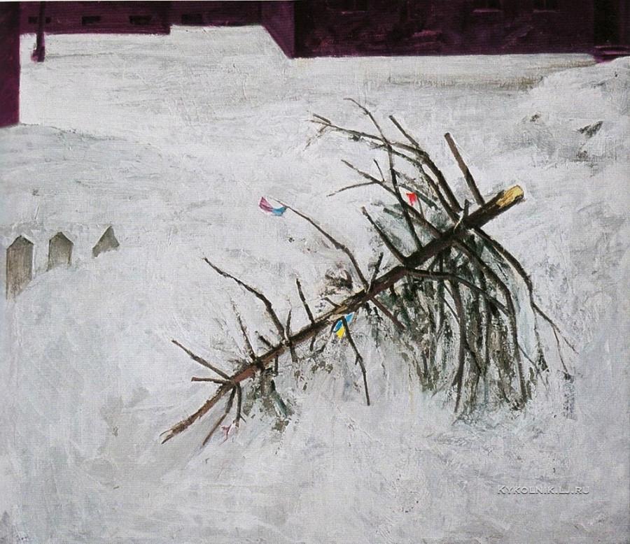 Данциг Май Вольфович (Белоруссия, 1930) «Ёлочка» 1971
