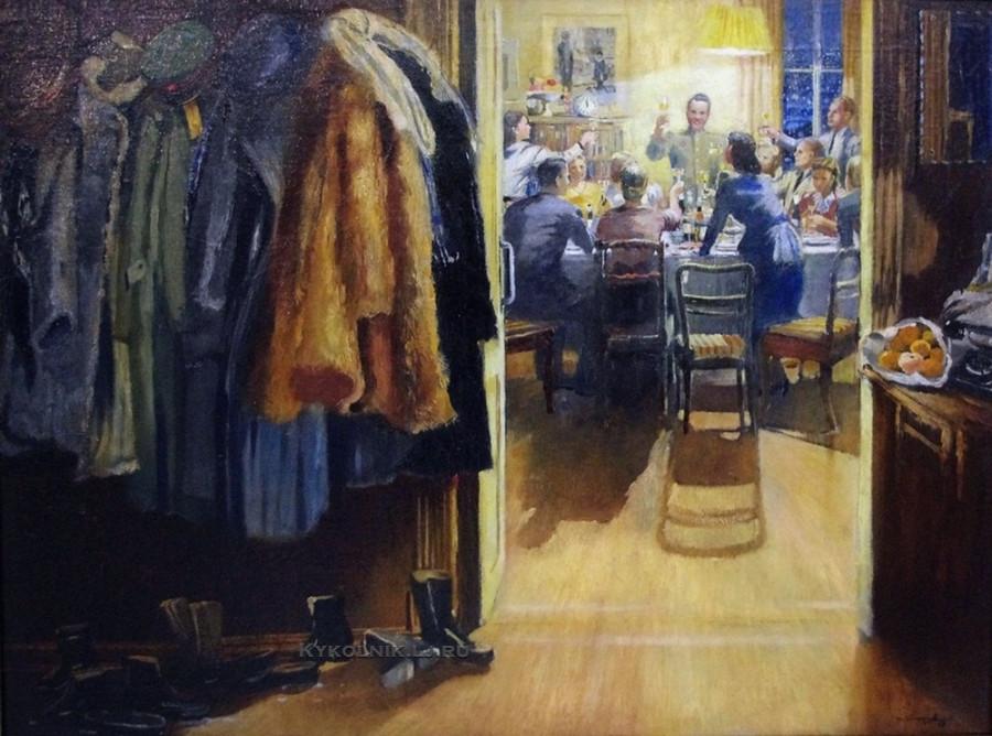Пименов Юрий Иванович (1903-1977) «Новый год» 1949а