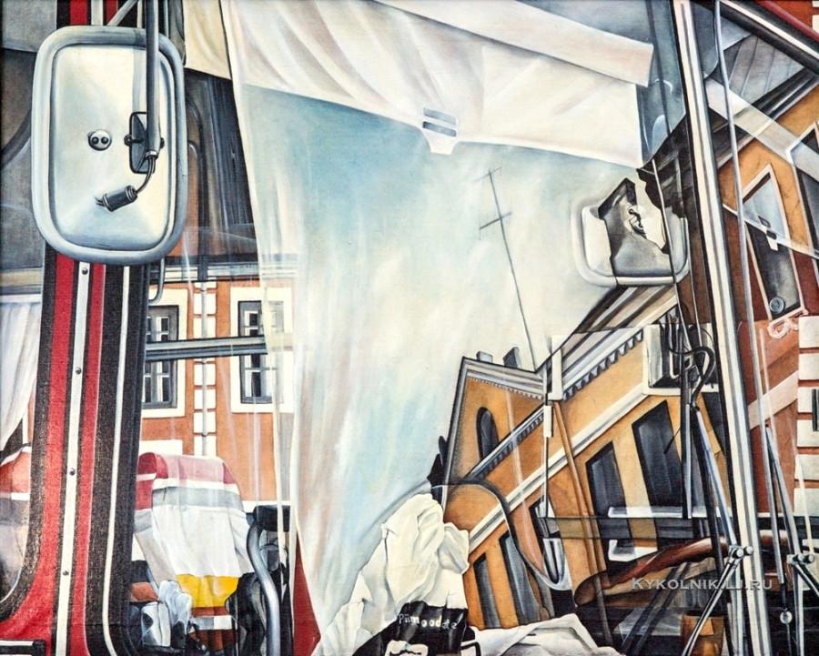 Круусамяэ Ильмар (Эстония, 1957) «Студенческая улица»  1982