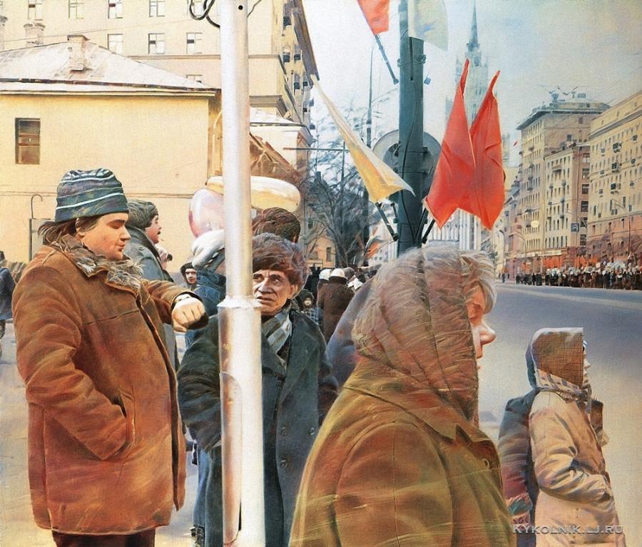 Файбисович Семён Натанович (Россия, 1949) «Который час» 1989