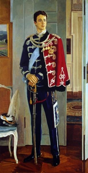 Жилинский Дмитрий Дмитриевич (1927-2015) «Портрет Крон-принца Федерика Датского» 1993
