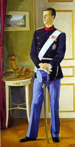 Жилинский Дмитрий Дмитриевич (1927-2015) «Портрет Принца Йоакима Датского» 1993
