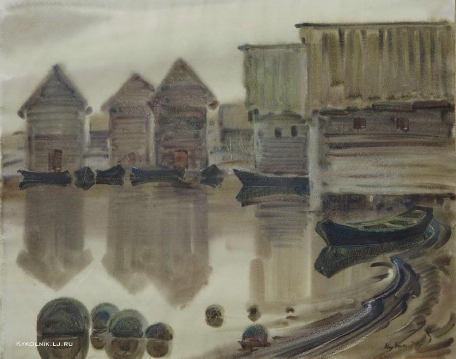 Кузин Виктор Федорович (Россия, 1926) «Тишина»