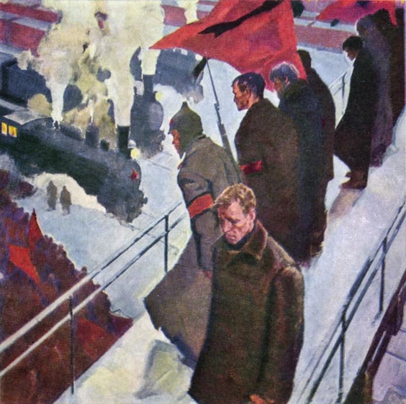 Шаталин Виктор Васильевич (1926-2003) Ленин умер