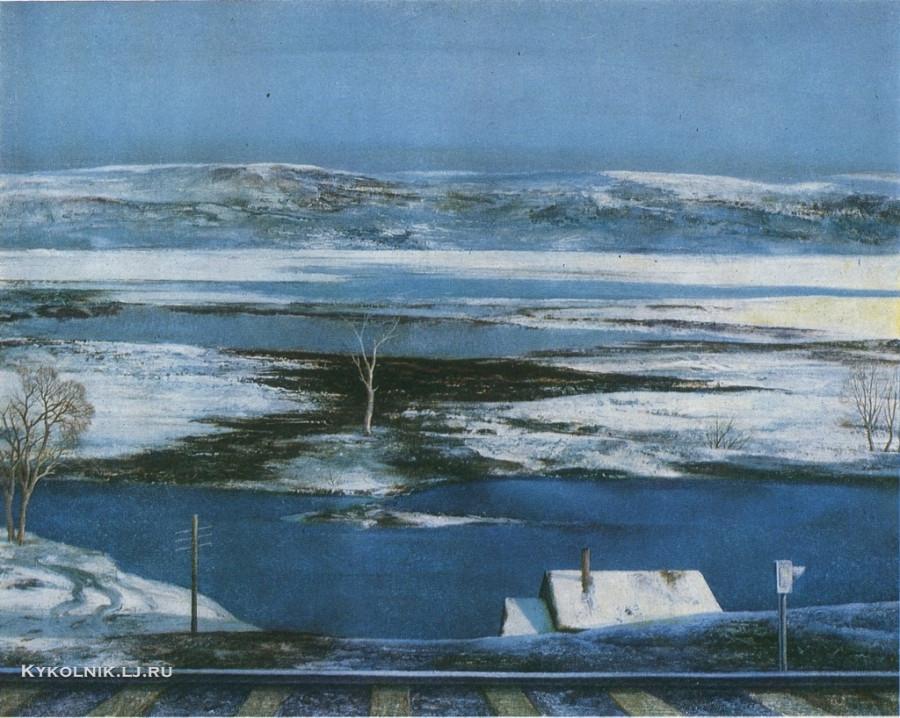 Крыжевский Ян Юлианович (Россия, 1948) «Весна земли» 1977