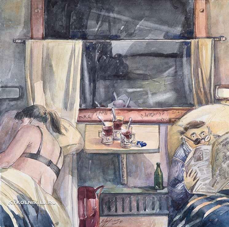 Архипов Валерий Валентинович (Россия, 1961) «Чайку не желаете»