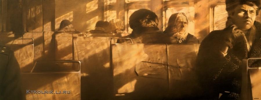 Файбисович Семён Натанович (Россия, 1949) «Зимнее солнце» 1985