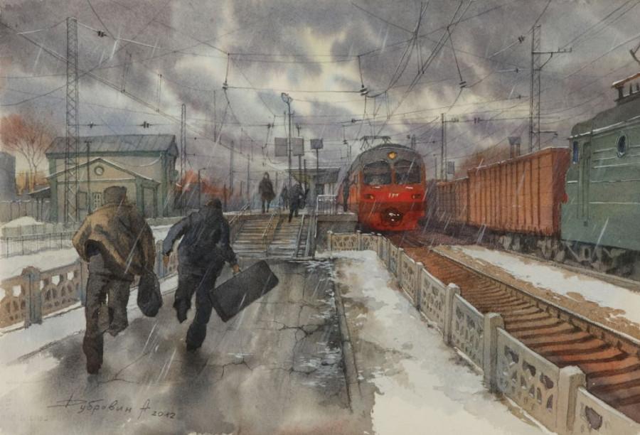 Дубровин Андрей Олегович (Россия, 1981) «По расписанию» 2012