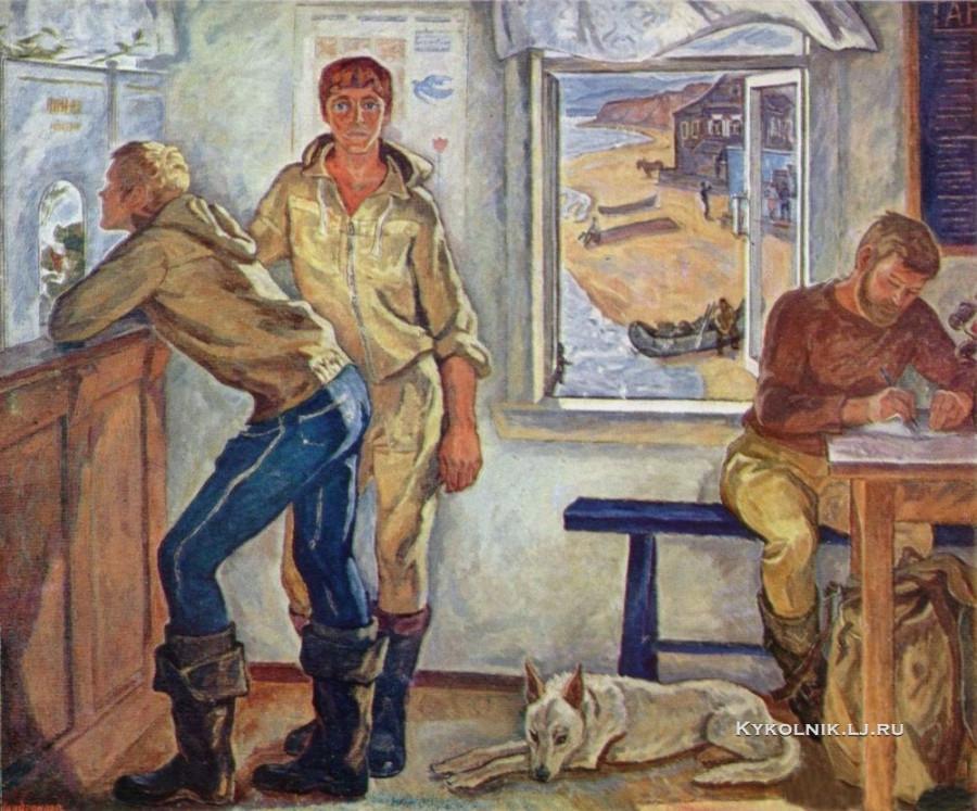 Шевандронова Ирина Васильевна (1928-1993) «Пути-дороги юности»