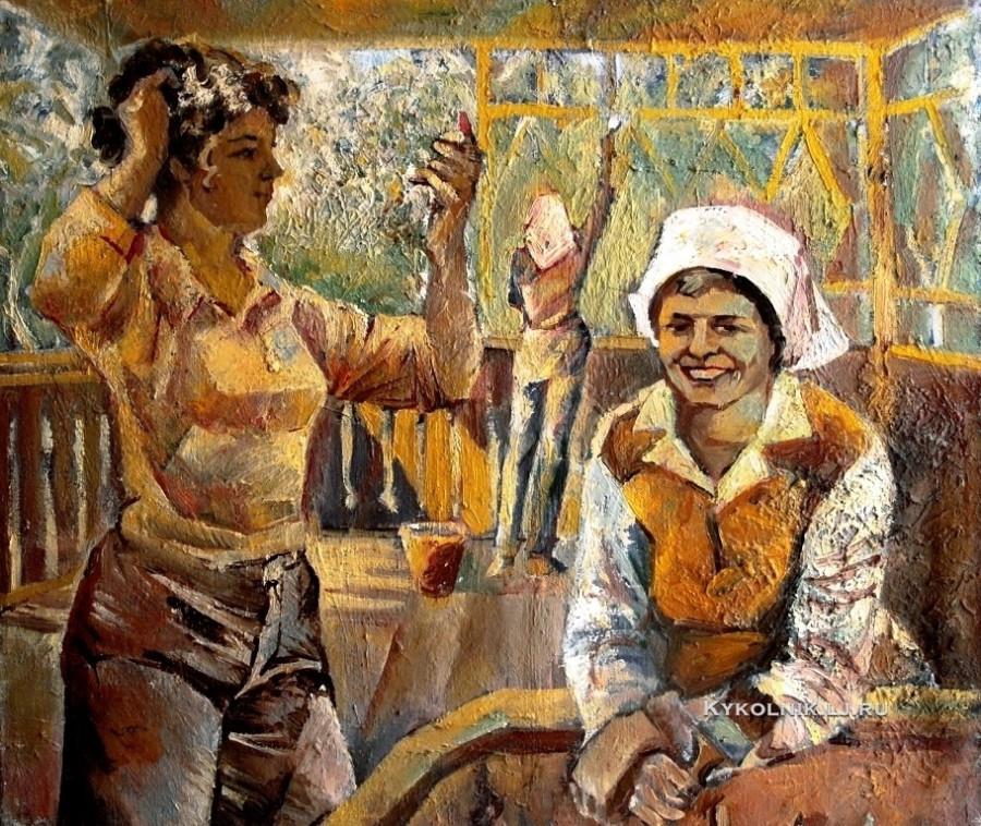 Степшин Валерий Викторович (Россия, 1957) «Маляры» 1982