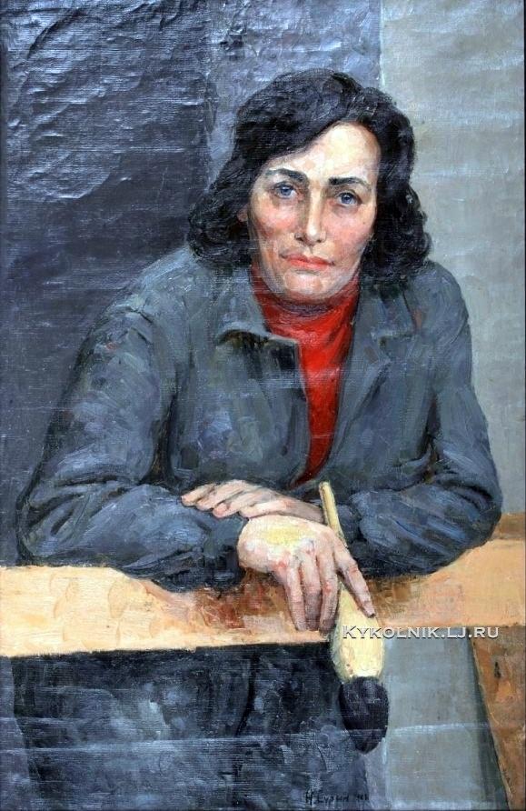 Сурин Николай Федорович (1925-1993) «Маляр Яковлева» 1978