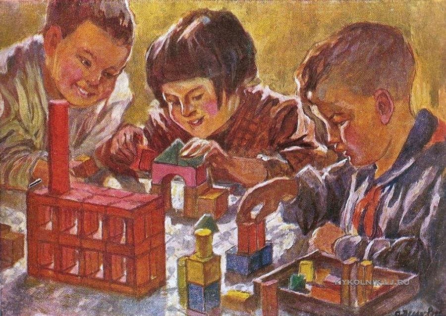 Делла-Вос-Кардовская Ольга Людвиговна (1875-1952) «Будем строить!» 1930-е