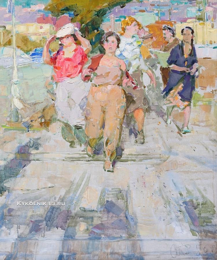 Стельмашонок Владимир Иванович (1928-2013) «Стройки Минска» 1958