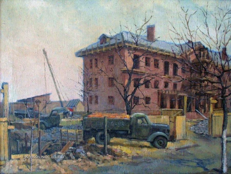 Винтенко Борис Михайлович (1927-2002) «Новая школа» 1950-е