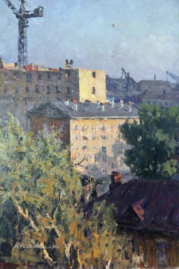 Земсков Лев Николаевич (1916-1989) «Тимирязевский район строится»