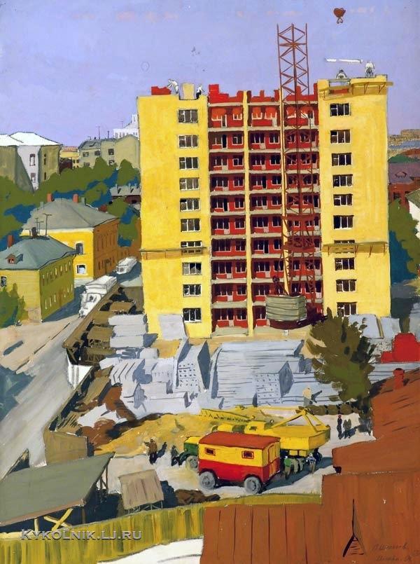 Шепелев Лев Викторович (Россия, 1937) «Майна!» 1965