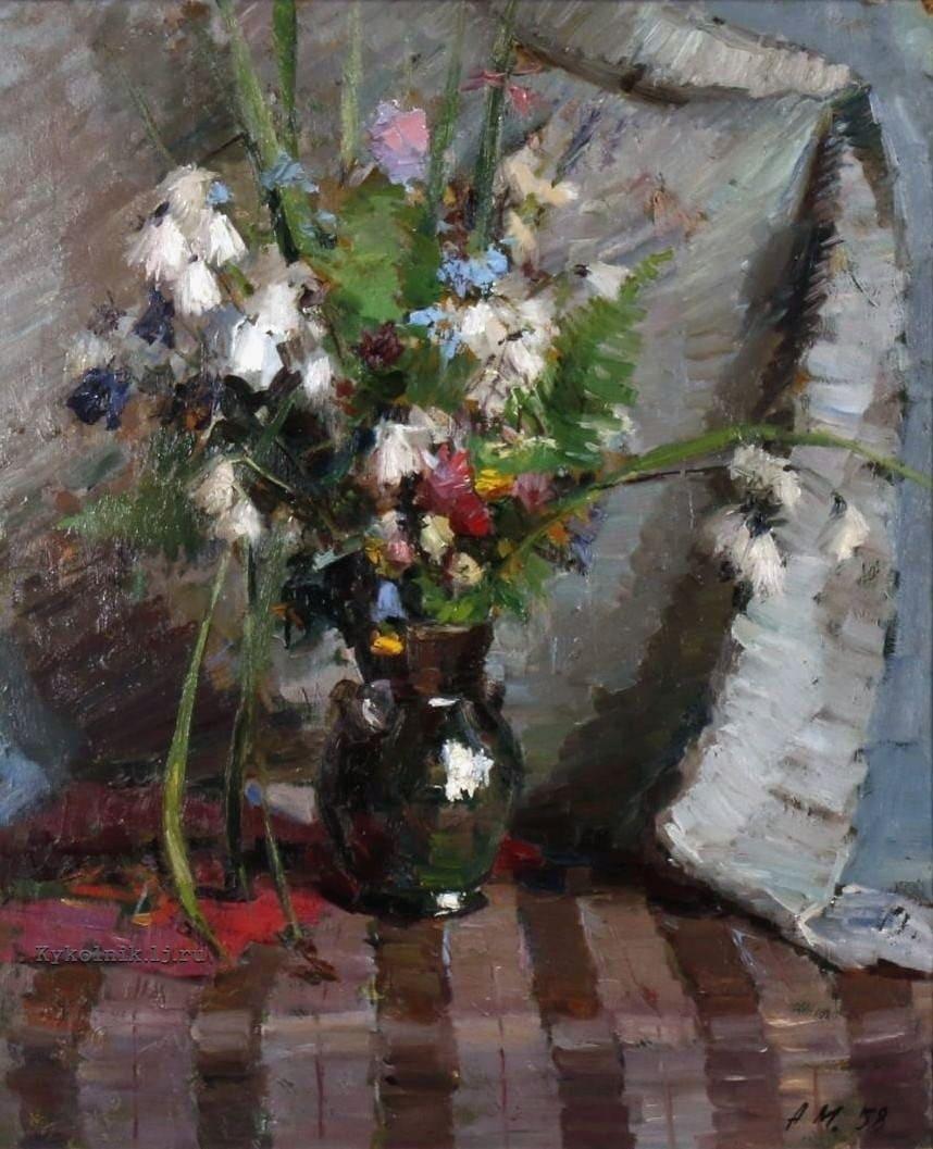 Мелнаре Аустра Яновна (1916-1995) «Янов цвет» 1958