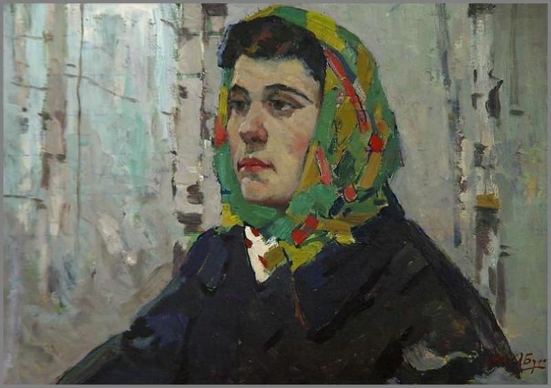 Бурак Александр Филиппович (1921-1997) «Качканарочка» 1962