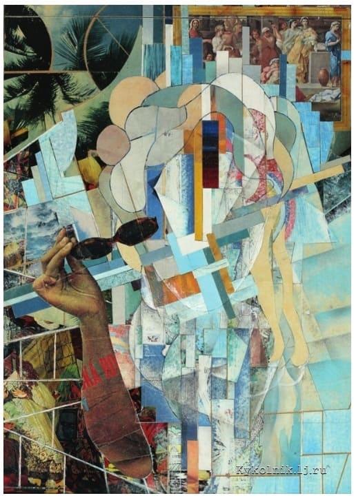 Раяк (Рояк) Ефим Моисеевич (1906–1987) «Девушка с очками» 1979